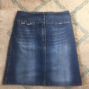 Dolce and Gabbana Jean Skirt